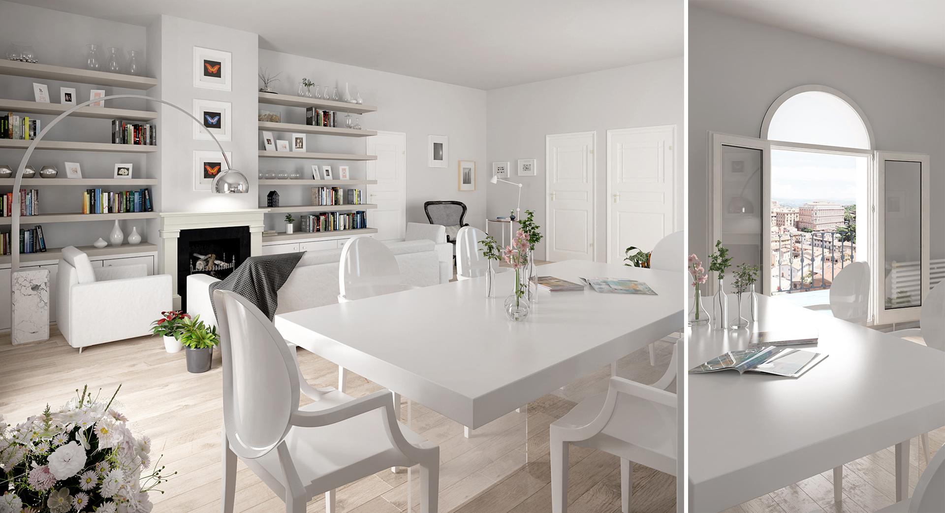 progetto di home staging di Francesco Aureli finalizzato alla vendita di un immobile a Perugia